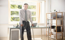 When can you get back to work and drive again after joint replacement?